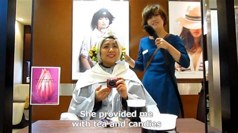 tokyo the hairstylist at a japanese hair salon youtube