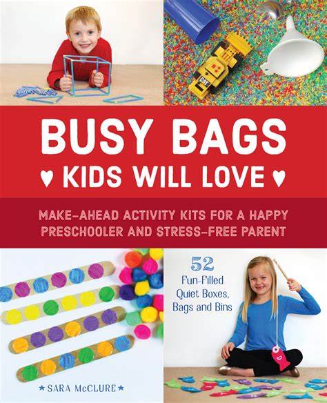 stress free kids books busy bags kids will love make ahead activity kits for a