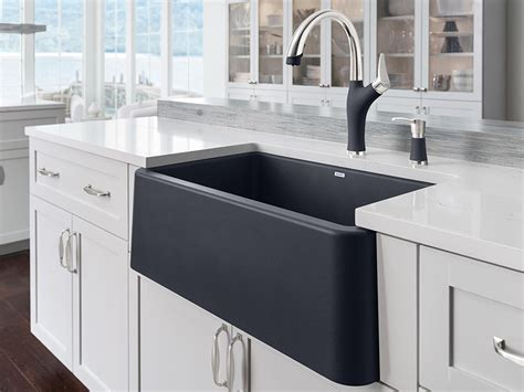 blanco 30 apron sink blanco ikon 30 quot apron front sink kitchen