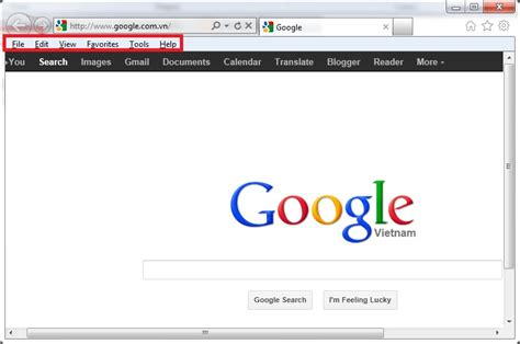 google chrome top bar how to view menu bar in ie firefox google chrome 4