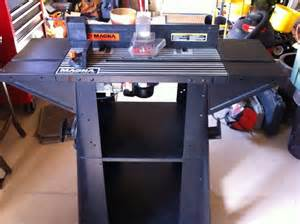magna router table with black decker router for sale in