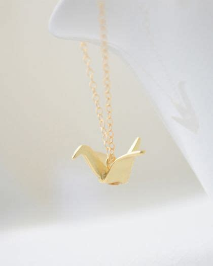 Origami Swan Necklace - the world s catalog of ideas