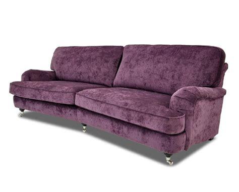 sofa lova akcija klasikinio stiliaus minkšta trivietė sofa violetinė su