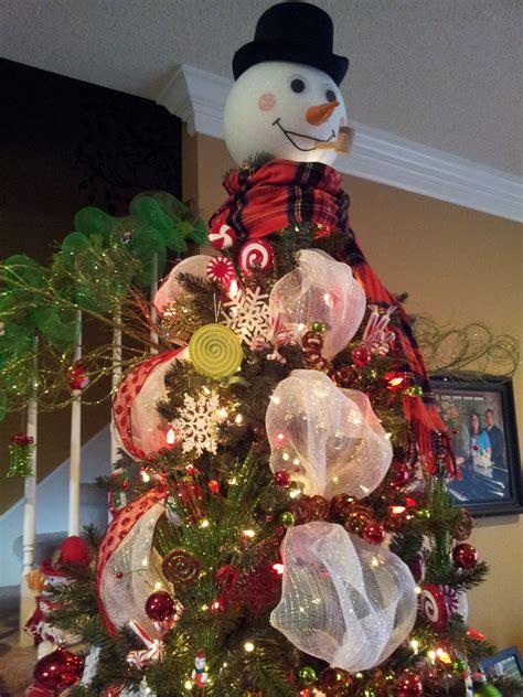 cracker barrel snowman tree topper another look the snowman tree topper i made my crafts snowman tree topper