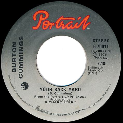 Kaos Burton High Quality Lp burton your back yard is it really right vinyl at discogs