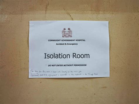 isolation room king s in the field ebola was not part of the plan