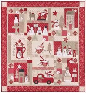 merry merry snowmen applique quilts patterns