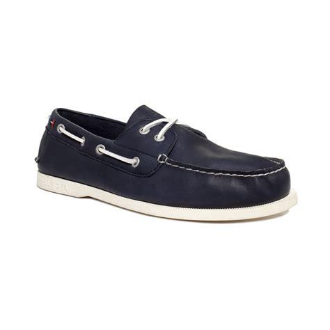 hilfiger shoes for hilfiger tollman boat shoes in blue for