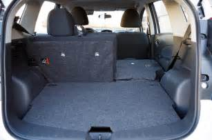 Nissan Note Trunk Review 2016 Nissan Versa Note Sl Canadian Auto Review
