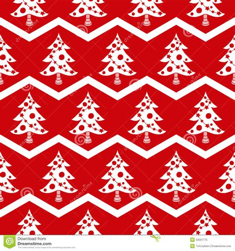 christmas tree pattern in c seamless christmas tree red pattern royalty free stock