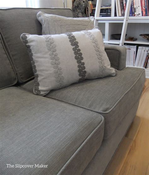 Sofa Slipcover In Pottery Barn Performance Tweed The Tweed Sofa Slipcover