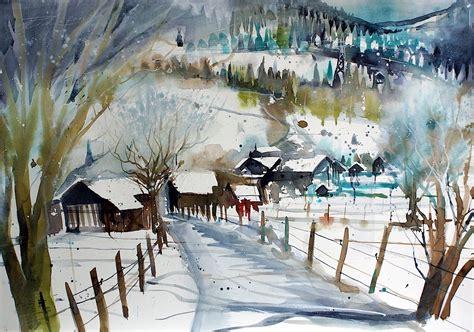 scheune im schnee bild bauerndorf pinzgau scheunen winterlandschaft