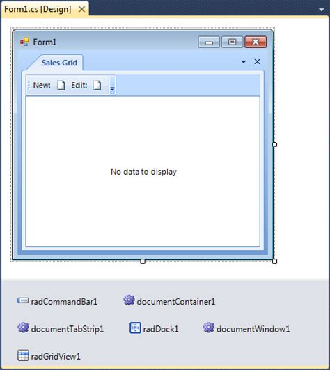best ui pattern for winforms maltrak radcontrols for winforms are not loaded at