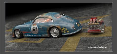 Porsche 356 Custom by Porsche 356 Custom Porsche 356 Outlaw Emory Singer