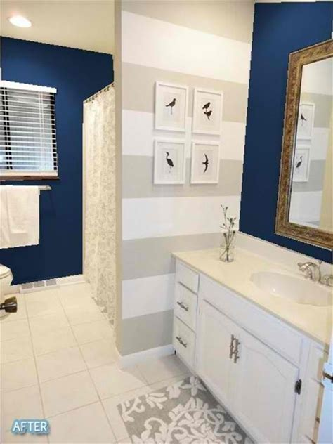 blue grey and white bathroom gray and navy bathroom www imgkid com the image kid
