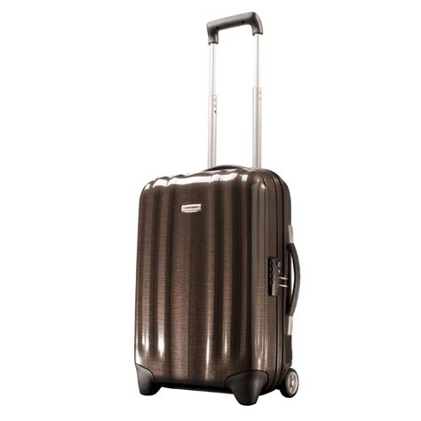 Cabin Luggage Size by Samsonite Cubelite Cabin Size Trolley Luggage 54cm