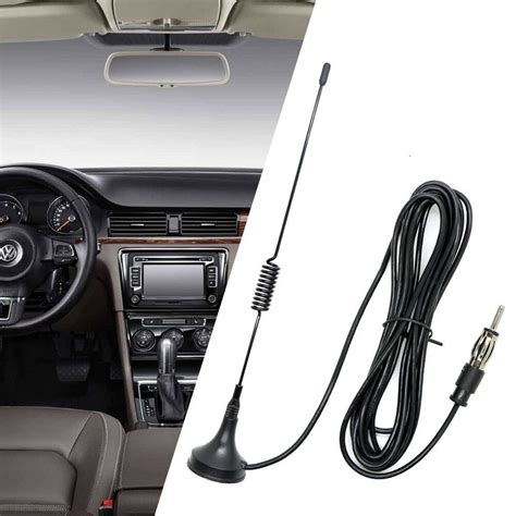 new universal auto fm antenna aerial trunk fender mount am fm radio car antenna ebay