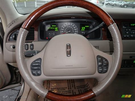 lincoln town car steering wheel 2002 lincoln town car signature light parchment steering