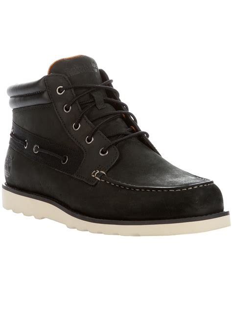 black timberland boots for timberland classic boot in black for lyst