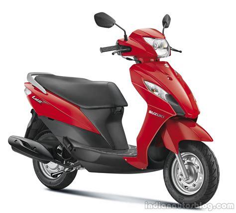 Suzuki Lets Scooter Suzuki Let S And Gixxer Unveiled In India