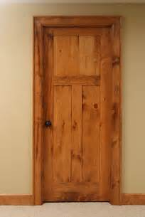 Knotty Pine Interior Door Knotty Pine Shaker Style Interior Door Contemporary Interior Doors Other Metro By Baird