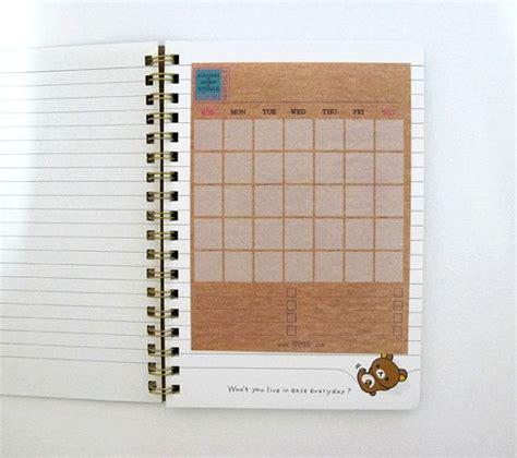 Medium Schedule Notebook best 20 monthly calender ideas on free