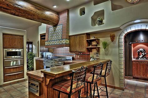 Rustic Red Kitchen Cabinets 23 beautiful spanish style kitchens design ideas