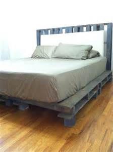 Bed Frame Made From Pallets Beautifully Created Diy 10 Pallet Bed Frame Design Ideas