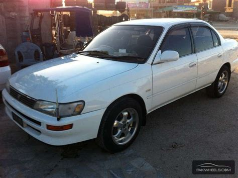 1994 Toyota Corolla For Sale Corolla For Sale In Peshawar Pakwheels