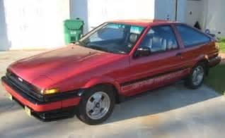 Toyota Corolla Gts For Sale 1985 Toyota Corolla Gts Bring A Trailer