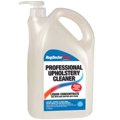 upholstery cleaner products rug doctor upholstery cleaner 5l a d supplies