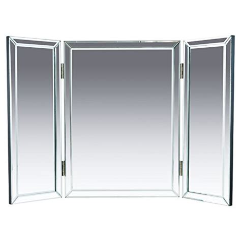 3 Way Bathroom Mirror by Houseables Trifold Vanity Mirror 3 Way 31 X 21 Single