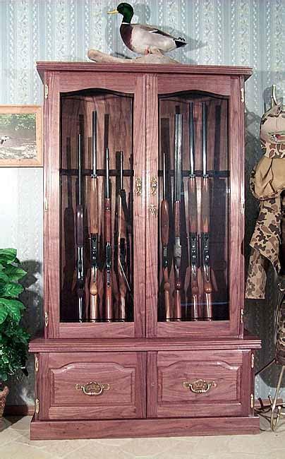 oak gun cabinets plans  woodworking