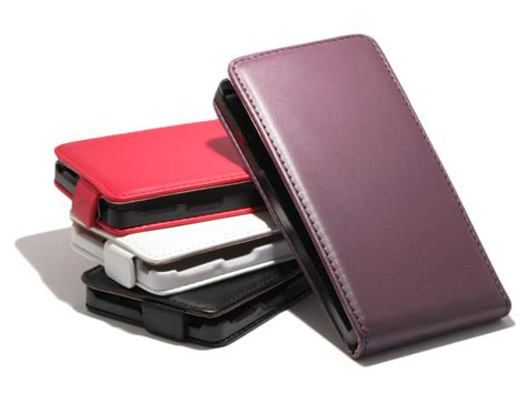 Casing Hp Xperia L slim leather voor sony xperia l