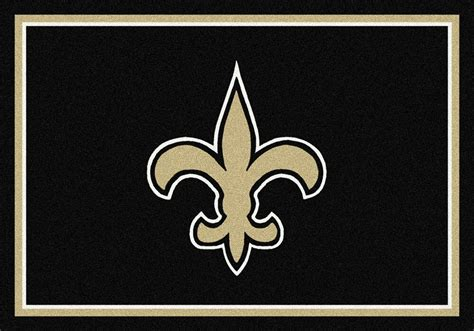 saints rug new orleans saints area rug nfl saints area rugs