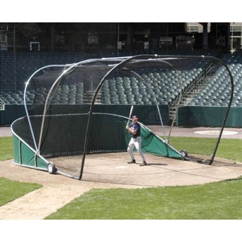 portable backyard batting cages the big bubba professional portable batting cage price