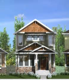 narrow lot cottage plans 2 storey narrow lot home plans