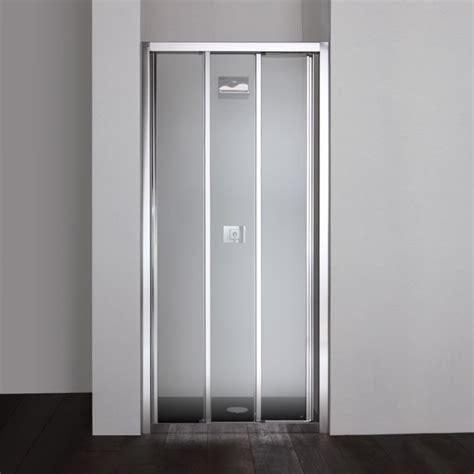 porta doccia 120 porta doccia 120 cm scorrevole a tre ante in cristallo 4 mm