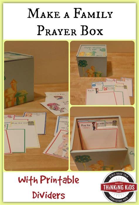 make a prayer card make a family prayer box with printable prayer card