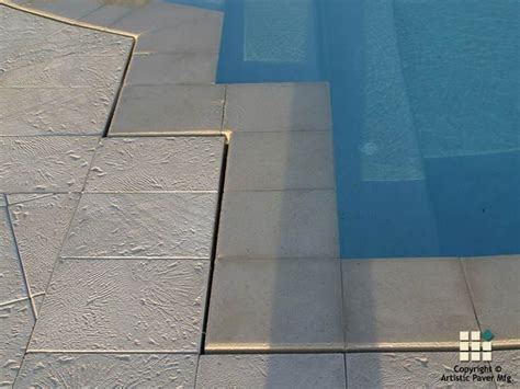 Corallock Pavers   Color Ivory   Wet Edge