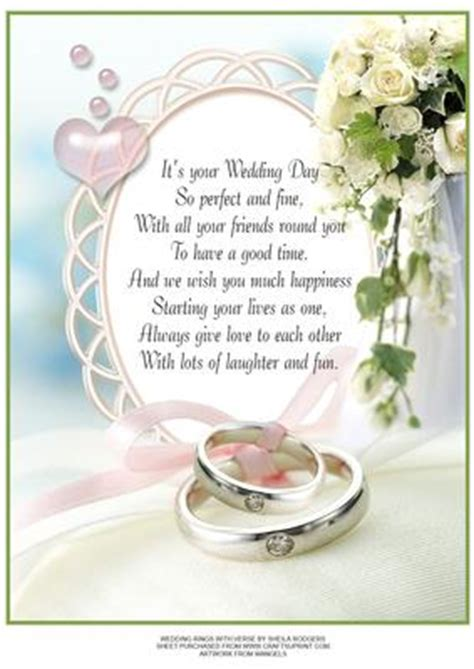 Congratulations On Your Wedding Bible Verses by Wedding Rings With Verse Cup77679 66 Craftsuprint
