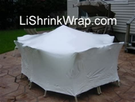 Shrink Wrap Patio Furniture Patio Furniture Shrink Wrap Weather Protection Cover
