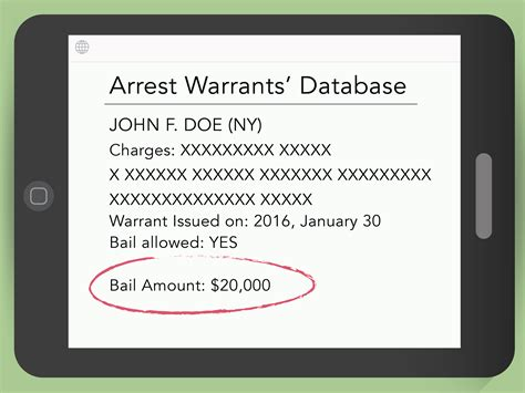 Search To See If Someone Has A Warrant How To Find Out If A Person Has An Arrest Warrant 10 Steps
