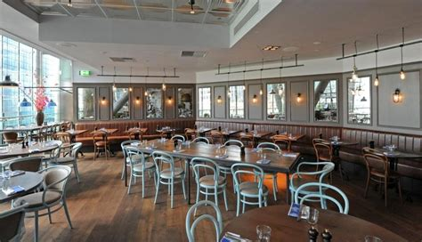 Top Bars In Canary Wharf by Reebok Sports Club The Hurst Interior Fit Out