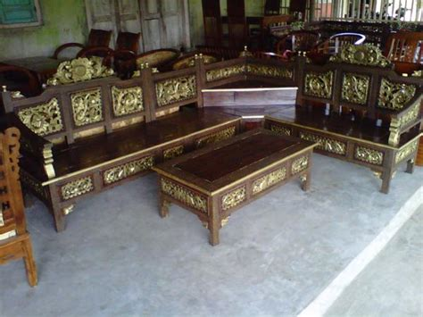 Kursi Tamu Sudut Minimalis Mahkota Jok Kayu Jati kursi sudut mahkota createak furniture createak furniture