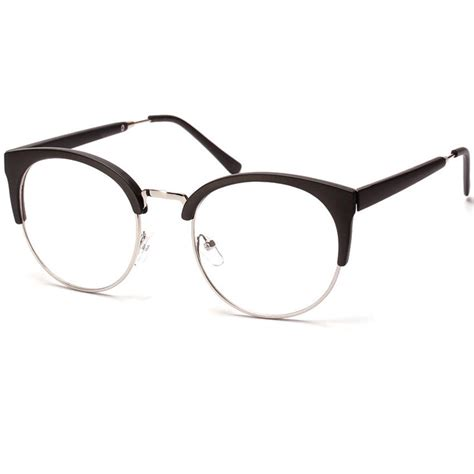 half frame cat eye reading glasses optical eyewear vintage
