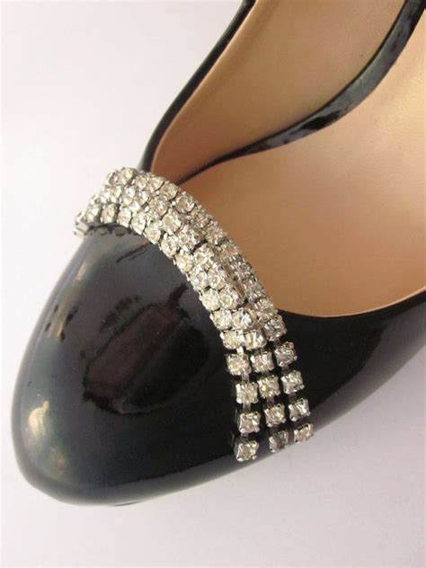 Shewelry Jewelry For Your Shoes by Vintage Rhinestone Shoe Musi Shoe Accessory Shoe