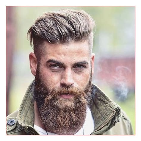 mens hairstyle with beard mens hairstyles with beard hairstyles