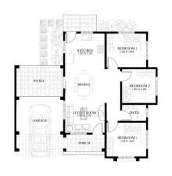 House Floor Plans Designs Small House Design 2013004 Pinoy Eplans