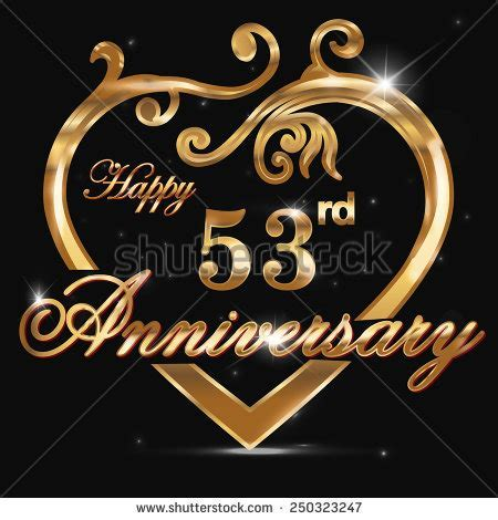 Royalty free 16 year anniversary golden heart, 16th